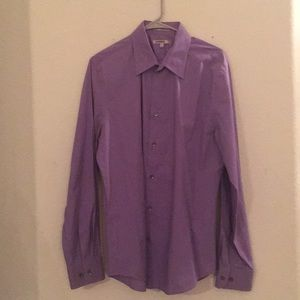 Men's express button shirt Large fitted
